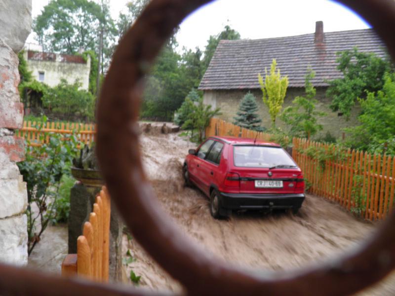 Záplava 26.5.2014 Mravín