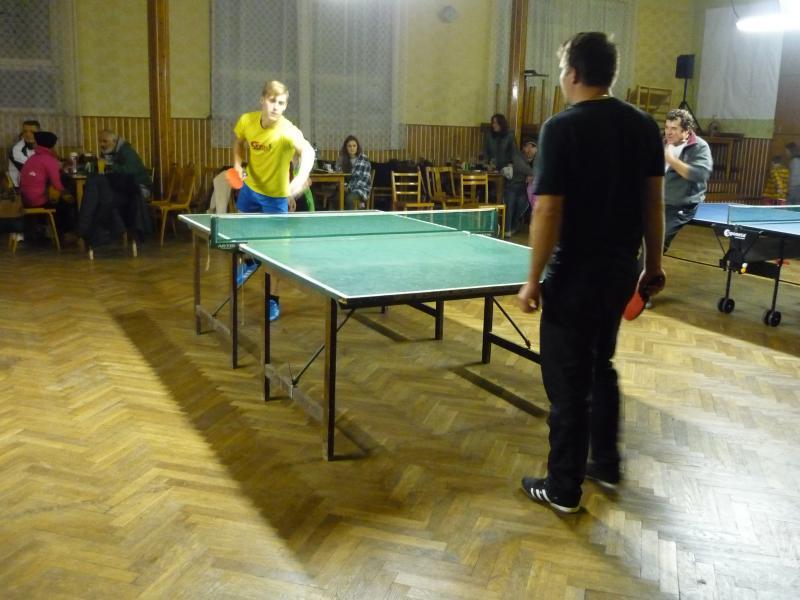 Pingpongový turnaj 2014