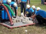 31.5. 2014 Lhota u Chroustovic - soutěž v 1.kole požárního sportu,4.místo-veteráni