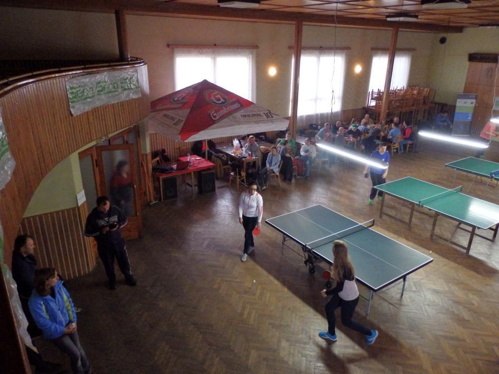 Pingpongový turnaj 2015
