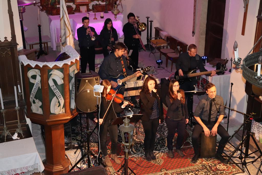 Vánoční koncert 2017 - Parkoviště pro velbloudy