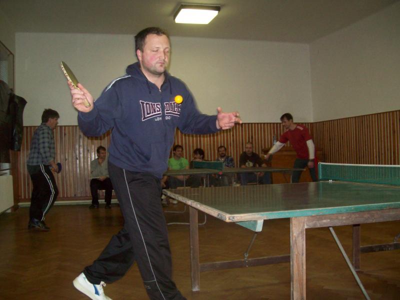 Pingpongový turnaj 2011