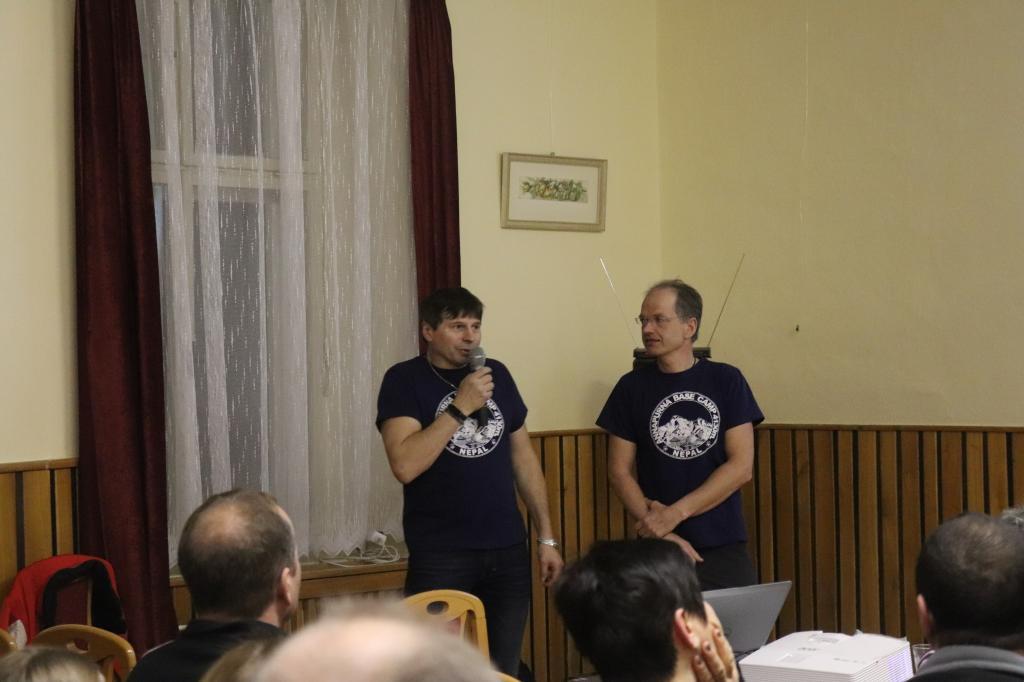 Projekce Anapurna trek - Petr Novák