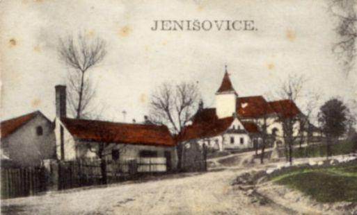 Jenišovický kostel - historie